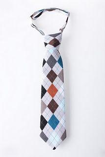 DIY baby boy tie; for my lil nephew(: