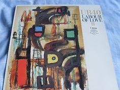 UB 40 LABOUR OF LOVE II Vinyl LP ALBUM inc HOMELY GIRL, KINGSTON TOWN