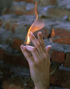 Torbjørn Rødland, Hand on Fire, 2008 Nils Stærk Gallery Character Aesthetic, Aesthetic Girl, Polaris Marvel, Maleficarum, Fire Photography, Elfa, Fire Element, Fire Powers, Fire Nation