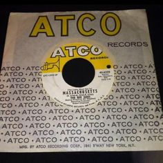 Vintage-Bee Gees - Sir Geoffrey Saved The World 45 Rpm