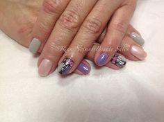 Novelty nails Cnd Shellac, Natural Nails, Beauty, Cosmetology, Natural Looking Nails, Natural Color Nails