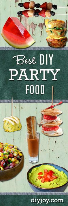 Best DIY Party Food Ideas