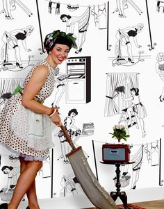 1000 images about limpio mi casita on pinterest brides vintage housewife and vintage ads. Black Bedroom Furniture Sets. Home Design Ideas