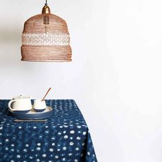 Handmade crocheted lights made from copper wire, which are a nice collaboration from Lightly, supporting a small weaving village in India. Circle Table, Straw Bag, Weaving, Copper, Lights, Pendant, Handmade, Clothes, Collection
