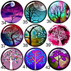 20 mm Snap charmsTree of Life chunk charms will by BeaditBracelets