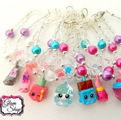 NEW!! Shopkins Season 5 Charm Bracelets are now in stock. Use code: GLAM16 on orders of $10 or more to receive free shipping!