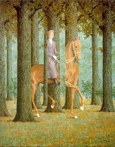 """Rene Magritte - The Blank Signature - 1965 - Surrealism   Discover the latest art shows in NYC (""""Like"""" us here): www.facebook.com/artexperiencenyc    And never miss a thought-provoking review again :www.artexperience.com"""