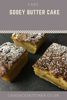 There is nothing more satisfying than spending time baking something yummy and filling for my family and friends. This gooey butter cake ticks all the boxes Gooey Butter Cake, Recipe Boards, Let Them Eat Cake, Goodies, Favorite Recipes, Baking, Breakfast, Desserts, Wine
