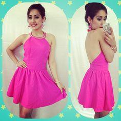 Pink dress Fashion &Style