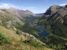 Top 10 Hikes in Glacier National Park | Top Ten Trails | Swiftcurrent Valley from Grinnell Glacier Trail