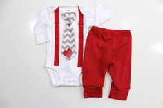 Hey, I found this really awesome Etsy listing at https://www.etsy.com/listing/218014270/baby-boy-valentines-day-outfit-with