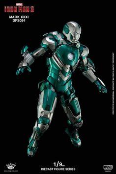 Iron Man 3 DFS054 Iron Man Mark XXXI Piston 1/9 Scale Figure Pop Marvel, Marvel Heroes, Marvel Avengers, Marvel Comics, Iron Man Wallpaper, Marvel Wallpaper, All Iron Man Suits, Iron Man Fan Art, Hot Toys Iron Man