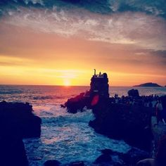 Sunrise at #Mazatlan, #Mexico.