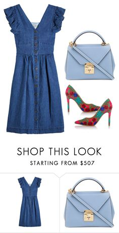 """""""Fashion for women"""" by nihada-niky ❤ liked on Polyvore featuring Sea, New York, Mark Cross and Vivienne Westwood"""