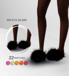 Fur Slides Updated New Version Added Big Fur Slide / 22 Swatches Changed Out the feet! All Credit to Maxis, Sims Baby, Sims 4 Toddler, Sims 4 Mods Clothes, Sims 4 Clothing, Sims 4 Game Mods, Sims Mods, Vêtement Harris Tweed, Sims 4 Traits
