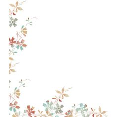 Floral Overlay ❤ liked on Polyvore featuring backgrounds, borders, effects, corner, filler and picture frame