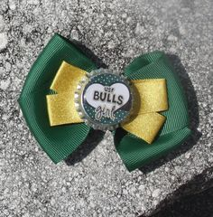 USF University of South Florida USF Hair Bow Bow for by bowsforme, $6.00