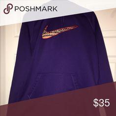 Nike Hoodie Purple Nike hoodie! Perfect condition. Very comfortable. Nike Other