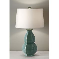 Have to have it. Murray Feiss Ceramica 10172JDT Table Lamps - $169.01 @hayneedle.com