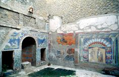 Pompeii and Herculaneum tour info Ancient Roman Houses, Ancient Ruins, Ancient Rome, Ancient Greece, Ancient History, Tempera, Examples Of Artifacts, Fresco, Pompeii And Herculaneum