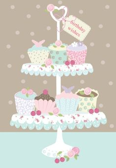 Martina Hogan - HAPPY BIRTHDAY CUPCAKES.jpg                                                                                                                                                                                 More