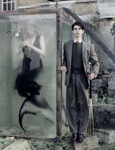 I don't know what's going on but here is Ben Whishaw and a mermaid