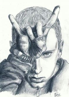Eminem draw bitch