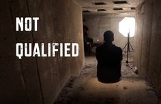 Not Qualified (Spoken Word)...The things we experience in life and the choices we make does not affect God's wish to use us for His will. Life is not about us, but it is about HIM..He who sacrificed His Son, Jesus Christ, has healed us and wants to use us!