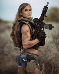 Guns Weapons Girls::: sexy girls hot babes with guns beautiful women weapons Airsoft Girls, Mädchen In Uniform, Best Workout Routine, Female Soldier, Army Soldier, Military Girl, Military Women, Big Guns, N Girls