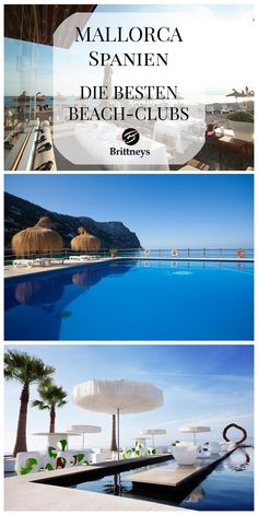 Die Besten Beach-Clubs auf Mallorca #Spanien #Mallorca #Beach #BeachClub Palma De Mallorca Beach, Mallorca Beaches, Hotel Am Strand, Honeymoon Hotels, Beach Hotels, Beach Club, Balearic Islands, Beach Bars, Tropical Beaches