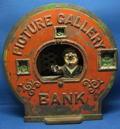 Picture Gallery Mechanical Bank