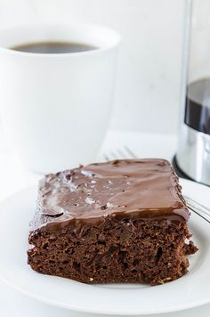 Chocolate Zucchini Cake (Gluten Free) | cooking ala mel by cookingalamel, via Flickr