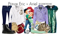 """Prince Eric + Ariel"" by leslieakay ❤ liked on Polyvore featuring Meryn, Manon Baptiste, Chloé, Bling Jewelry, Topman, Banana Republic, Nixon, Dr. Martens, Bansri and women's clothing"