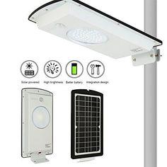 NEW! OUTAD White Home   8 Watt -LED Solar Wall Light - Solar Street Li...NO TAX #OUTAD