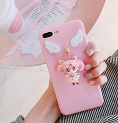 Sailor Moon Usagi And ChibiUsa Phone Case for iphone ●Material: Silicone . ●About Shipping: We attach great importance to the orders of each customer and parcel delivery. time: business days to US, please allow weeks shipping t Iphone 7 Plus, Iphone 6, Iphone Cases, Kawaii Phone Case, Diy Phone Case, Cute Phone Cases, Mode Kawaii, Sailor Moon Usagi, Cute Unicorn