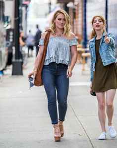 Hilary Duff - out and about in New York 06/07/2016
