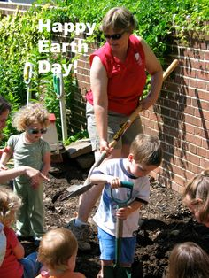 Digging! Thank you for your support as we teach children about the joys of the Earth. http://www.ahs.org/gardening-programs/youth-gardening