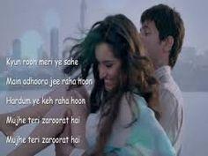 Ek Villain Lyric Quotes, Movie Quotes, Ek Villain, Dear Zindagi, Bollywood Quotes, Chill Pill, Beautiful Love Stories, Cool Lyrics, Happy We