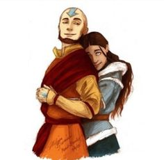 Avatar the Last Airbender - Avatar Aang x Katara ❤