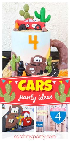 Check out this awesome Quarantine Cars birthday party! The cake is fantastic! See more party ideas and share yours at CatchMyParty.com #catchmyparty #partyideas #cars #carsparty #boybirthdayparty #quarantineparty Disney Cars Party, Disney Cars Birthday, Cars Birthday Parties, Birthday Celebration, Minecraft Party, Party Activities, Frozen Party, Holiday Parties, Party Favors