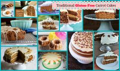 """So many amazing Gluten-Free Carrot Cake Desserts. You're going to find one--or several!--that bring out your """"inner bunny""""! Featured on Gluten Free Easily."""