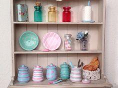 Tarros de cocina en miniatura. por MinisbyAngie en Etsy