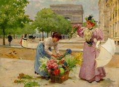 Louis Marie de Schryver (1862 – 1942) – Pintor Francês_12
