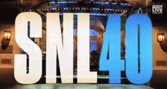 NEW YORK CITY-- The 40th anniversary celebration of 'Saturday Night Live' turned into an epic night on Sunday, one filled with famous faces and many of your favorites from the past four decades. Ji...