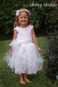 Crochet Pattern: 'Mary's Dress' Wedding Flower by whimsywoolies