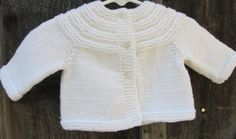 Baby Sweater by KingstonAlpacaKnits on Etsy, $24.95