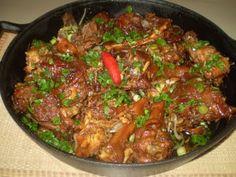 Comida mineira - Cozido de Galo