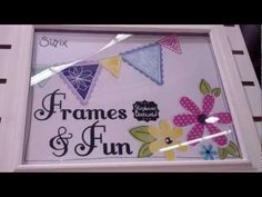 My line with Sizzix!  Framelits and More!