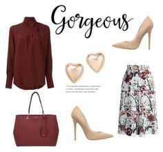 """""""50"""" by meldiana ❤ liked on Polyvore featuring Chloé, Chicwish, Jimmy Choo, DKNY and Bloomingdale's"""