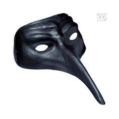Venetian Mask black venetian venice carnival mask butterfly - Karneval-Megastore.de found on Polyvore